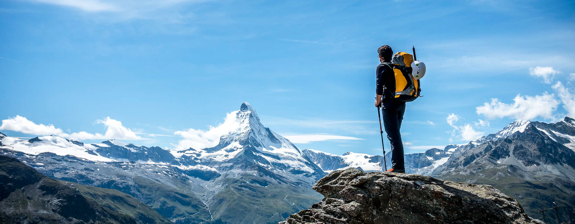 Hochtouren auf die Viertausender rund um Zermatt