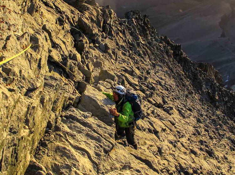 Hochtouren Fuehrung Matterhorn Mit Der Alpinschule
