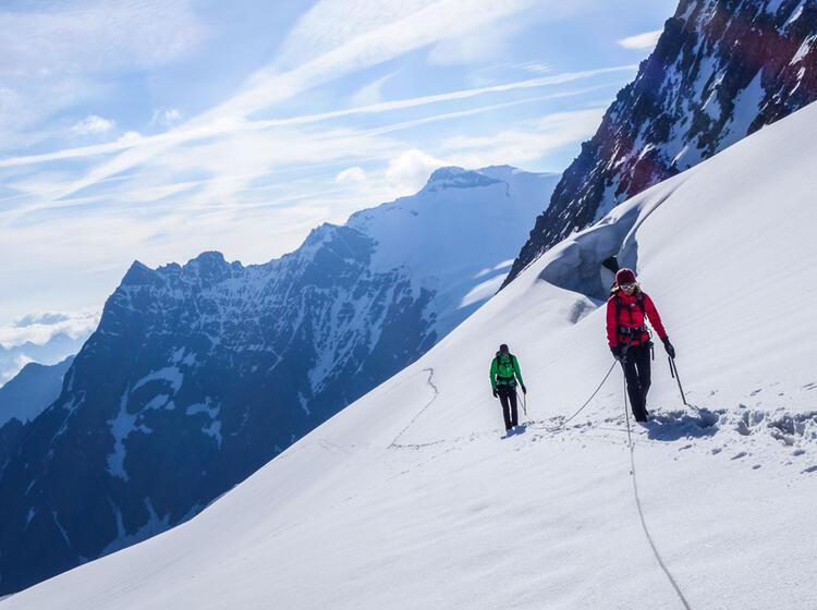 Hochtouren Gehen Lernen In Der Schweiz