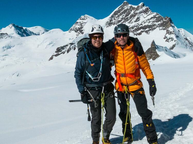 Hochtouren Gipfel Moench Und Jungfrau