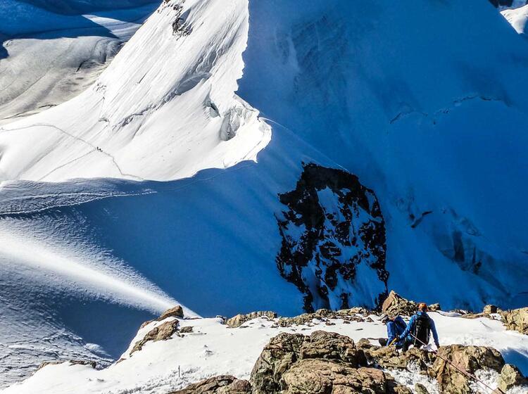 Hochtouren Mit Bergfuehrer Im Berner Oberland Und Im Wallis