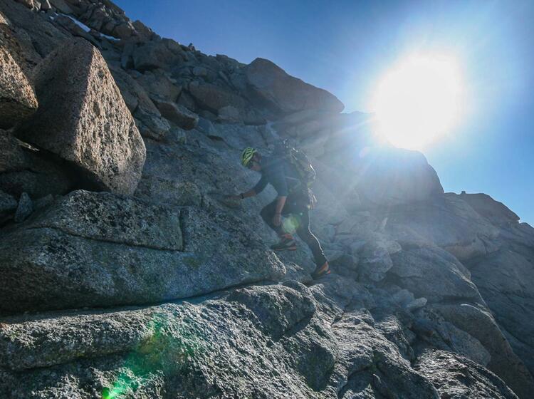 Hochtouren Mit Bergfuehrer In Den Alpen