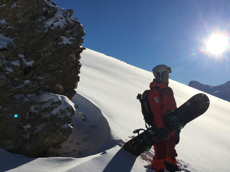 Hochtouren Mit Dem Splitboard In Der Silvretta