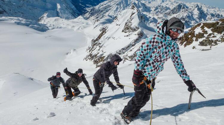 Hochtouren Mit Schneeschuhen In Der Silvretta