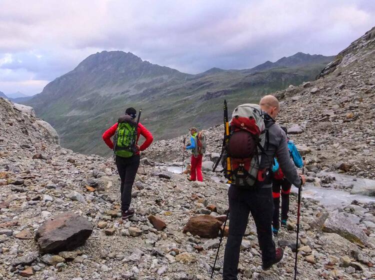 Hochtourenkurs Und Gletscherkurs In Der Silvretta Jamtalhuette