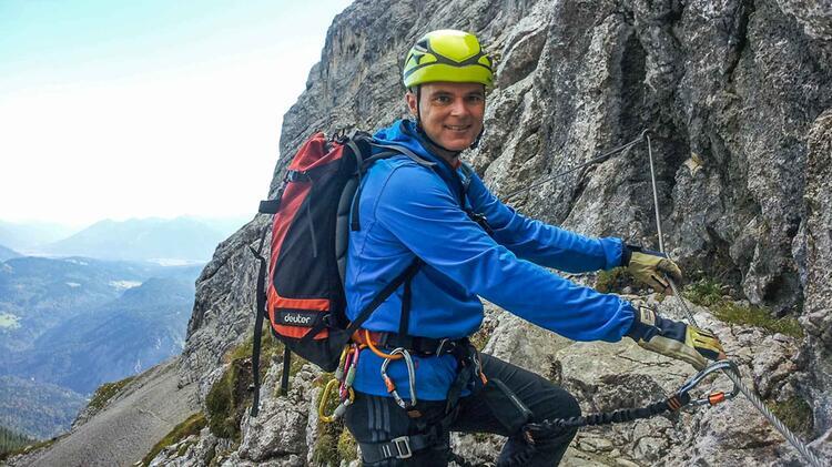 Hoellental Klettersteig Auf Die Zugspitze Mit Bergfuehrer Michael Adelbert