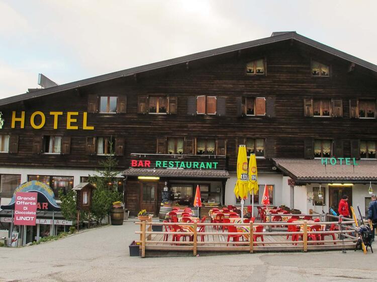 Hotel Auf Der Haute Route