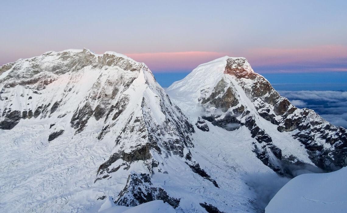 Huascaran Im Morgenlicht