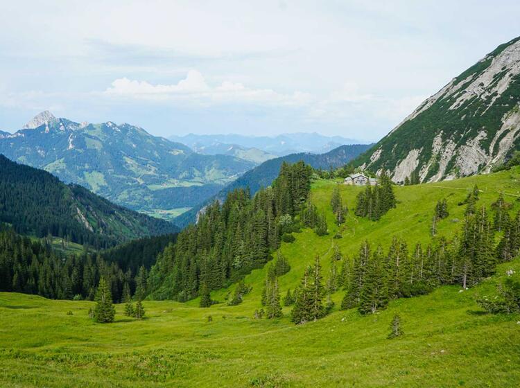 Huettenwanderung Am Tegernsee Und Spitzingsee