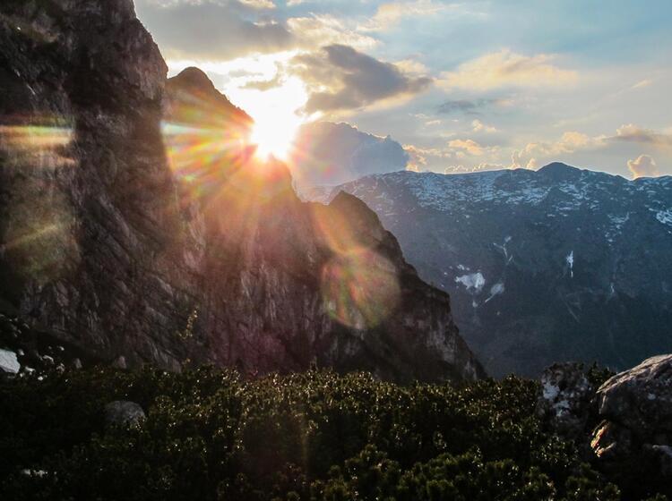 Ideales Ambiente Fuer Den Kletter Kurs In Berchtesgaden