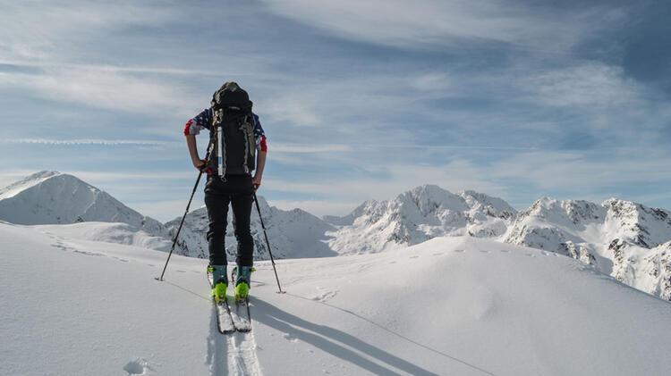 In Die Karpaten Zum Skitouren Gehen