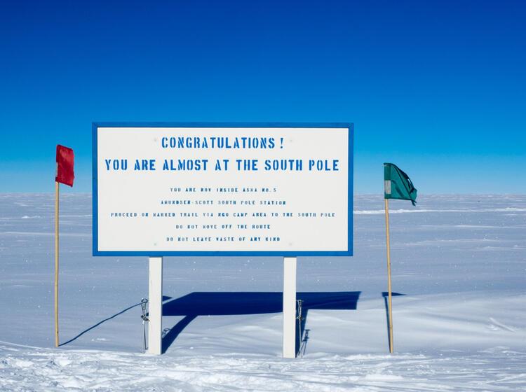 Innerhalb Der Su Dpol Area An Der Amundsen Scott Station