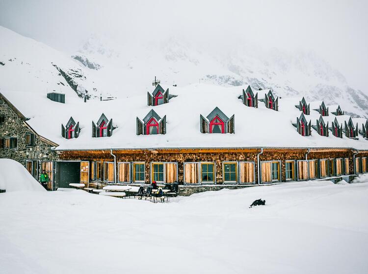 Jamtalhu Tte In Der Silvretta Der Ideale Skitouren Stu Tzpunkt