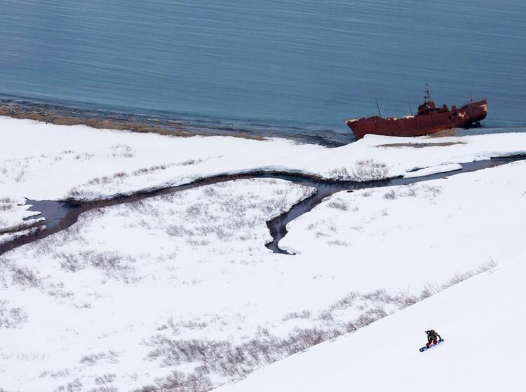 Kamtschatka Skitouren Mit Dem Schiff