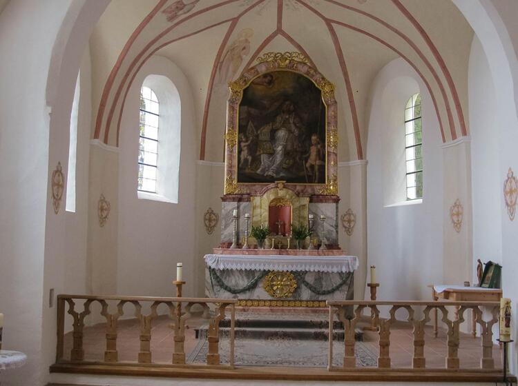 Kapelle Auf Dem Gefuehrten Salzalpensteig