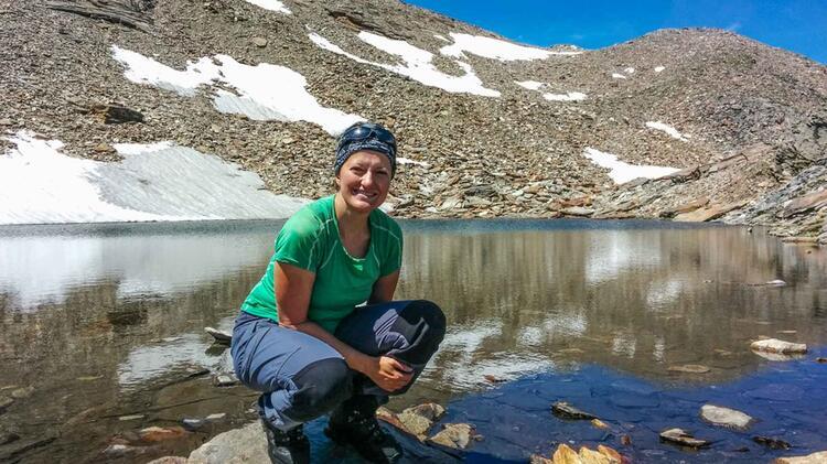 Katja Doerig Auf Der Alpenueberquerung Vom Watzmann Zu Den Drei Zinnen