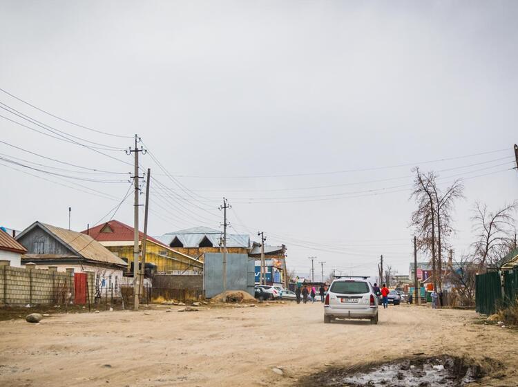 Kirgisien Karakol Stadtbesichtigung