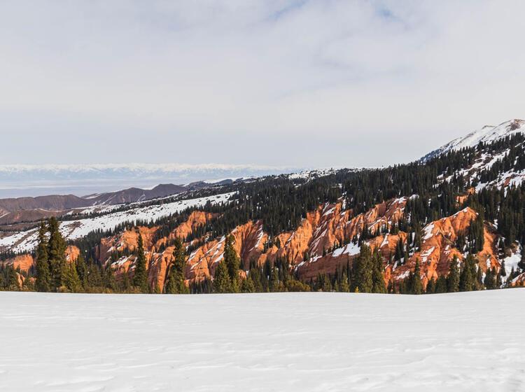Kirgisien Skitouren