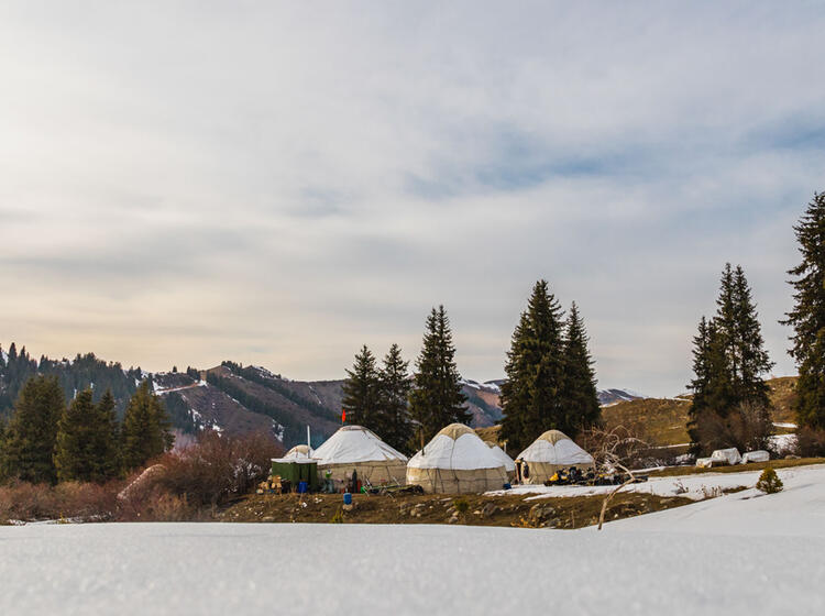 Kirgistan Jurten Skitour