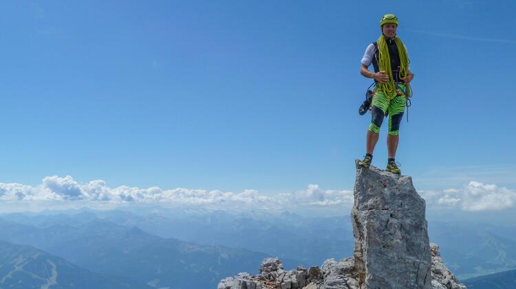 Kletter Lehrer Ist Bergfuehrer Hans Eichholzer
