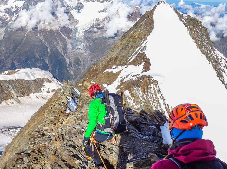Kletterei Am Nadelhorn