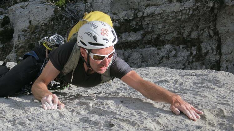 Kletterfuehrung Mit Bergfuehrer Joachim Huebner