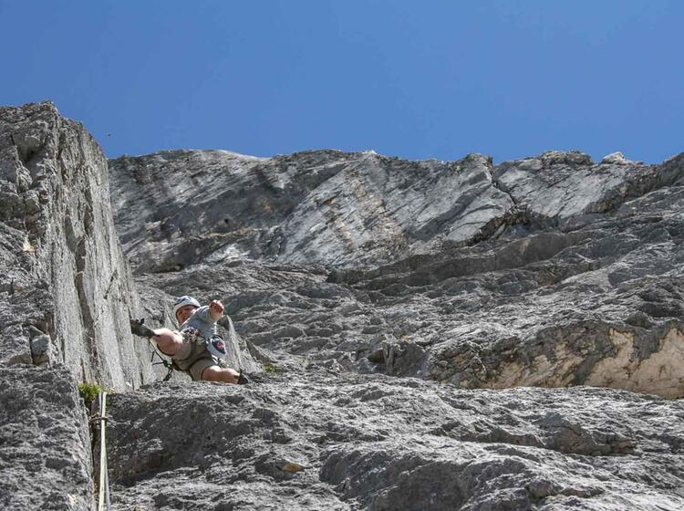 Kletterkurs Alpin Im Tannheimer Tal