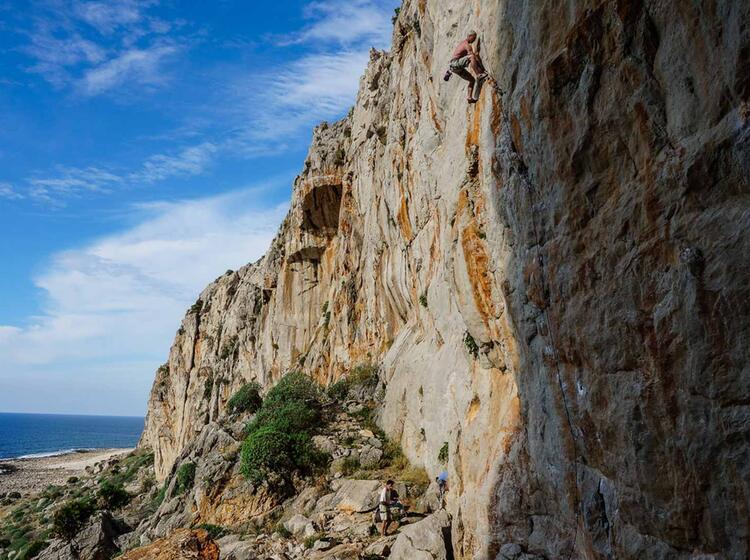 Kletterkurs Auf Sizilien Im Kletterurlaub