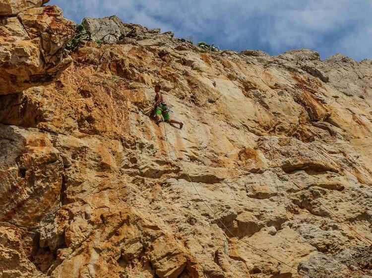 Kletterkurs Auf Sizilien