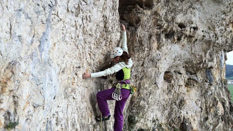 Kletterkurs Blautal Mit Beatrice Beggel 1