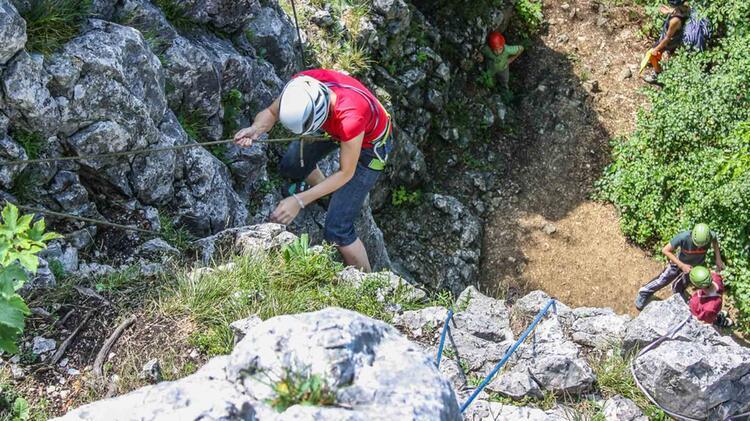 Kletterkurs Mit Der Alpinschule