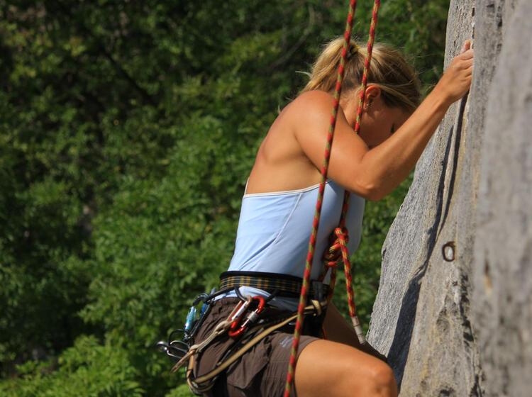 Kletterkurs Mit Kletterlehrer