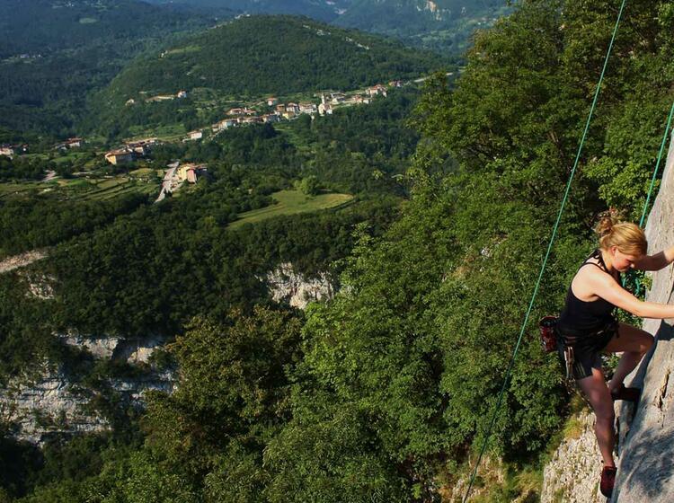 Kletterkurs Sportklettern Mit Bergfuehrer