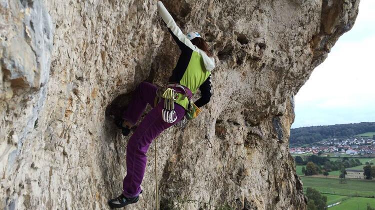 Kletterkurse Im Blautal Mit Beatrice Beggel