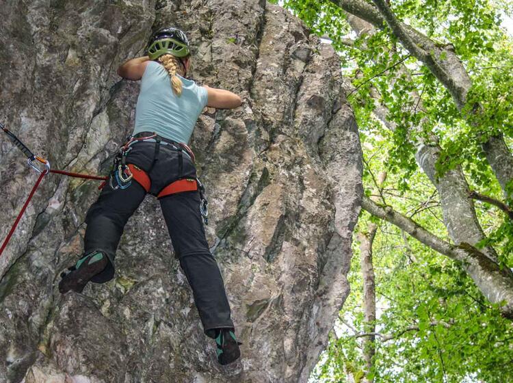 Kletterkus Im Blautal