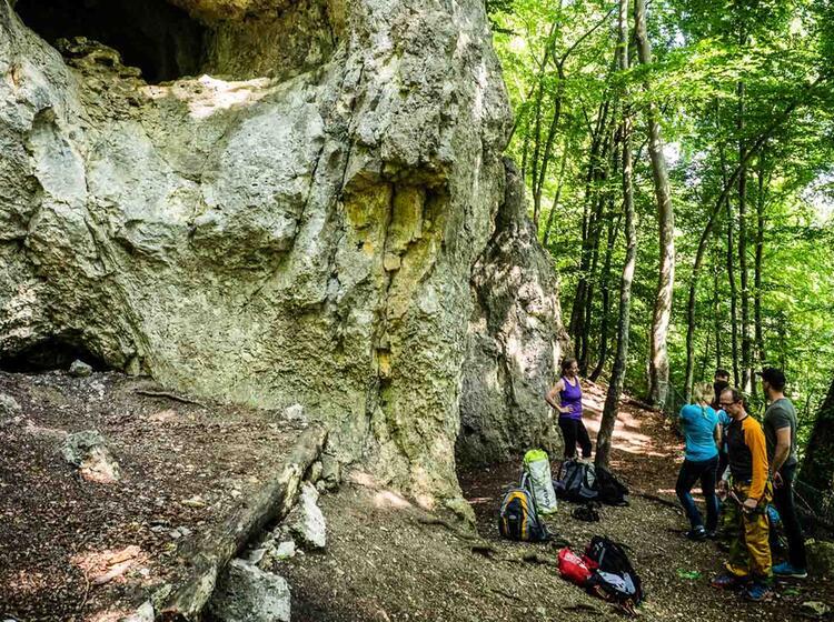 Klettern Auf Der Schwaebischen Alb