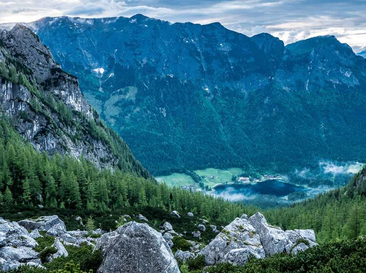 Klettern Im Nationalpark Berchtesgaden Lernen