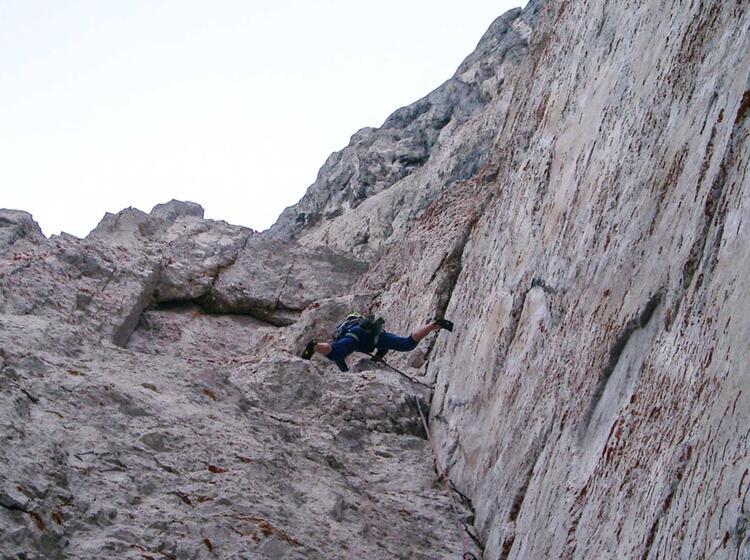 Klettern Im Wilden Kaiser Mit Bergfuehrer