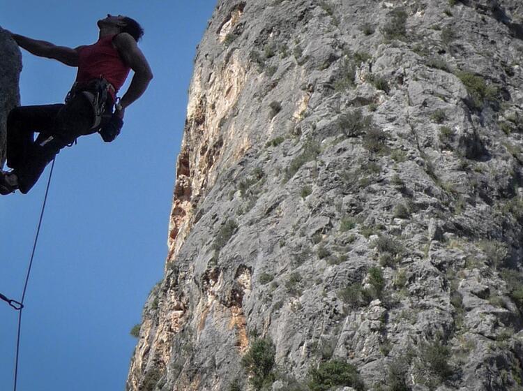 Klettern In Sa Gubia Mallorca 1