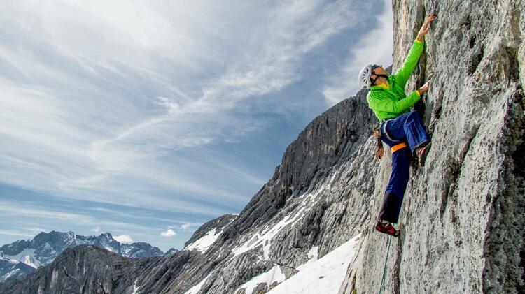 Klettern Lernen Am Kletterkurs In Garmisch An Der Alpspitze