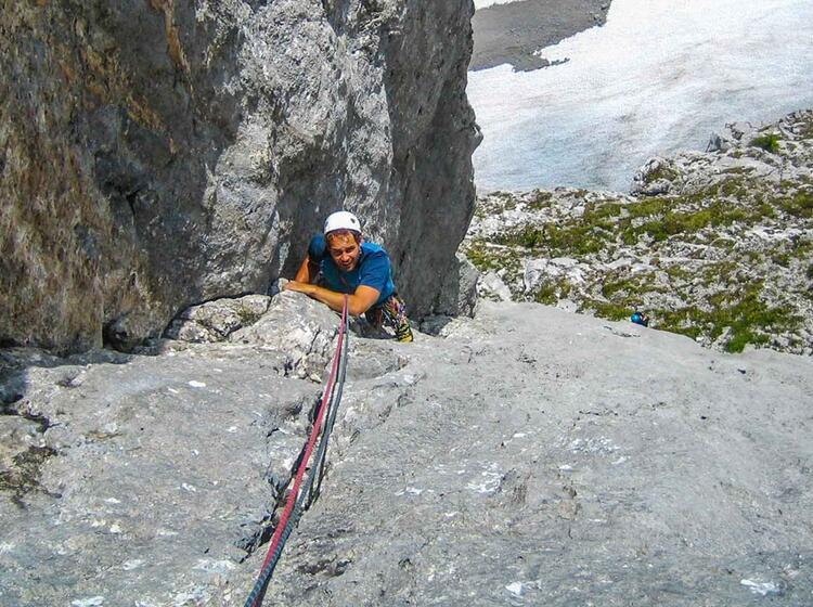 Klettern Lernen Am Kletterkurs