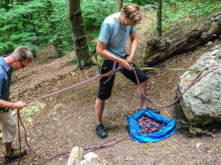 Klettern Lernen In Ulm Blautal