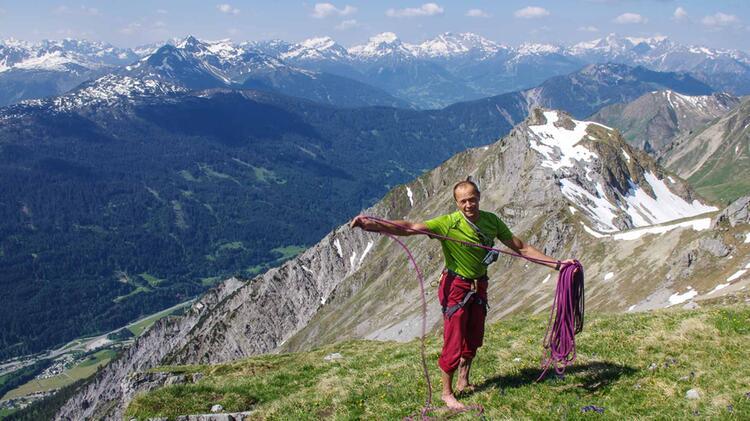 Klettern Lernen Mit Bergfuehrer Walter Voelkel