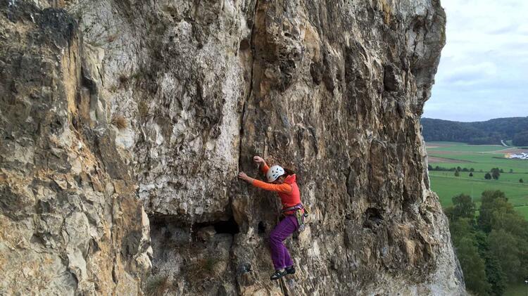 Klettern Lernen Mit Trainerin Beatrice Beggel