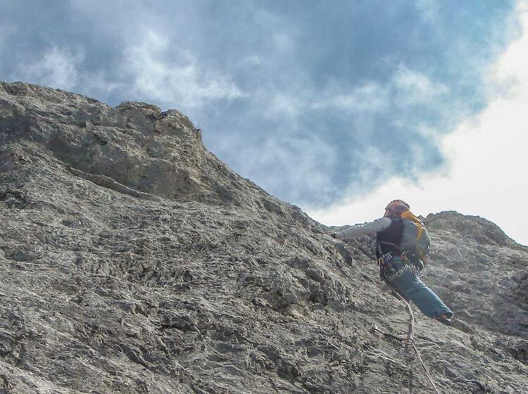 Klettern Rund Um Garmisch Am Waxenstein