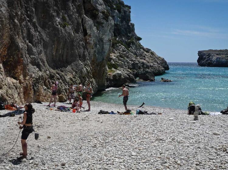 Kletterreise Mallorca Cala Magraner