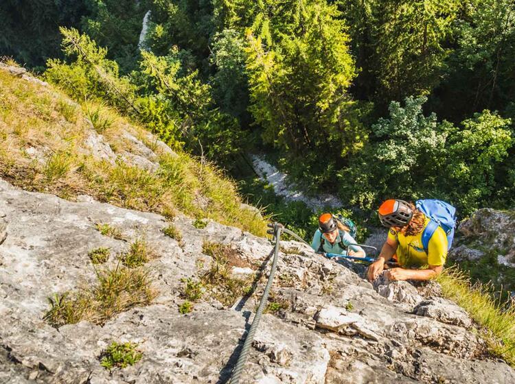 Klettersteig Einsteiger Am Gru Nstein Isidor Steig