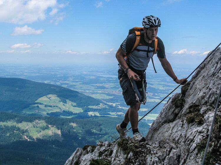 Klettersteig Gehen Am Pidinger Klettersteig Zum Staufen
