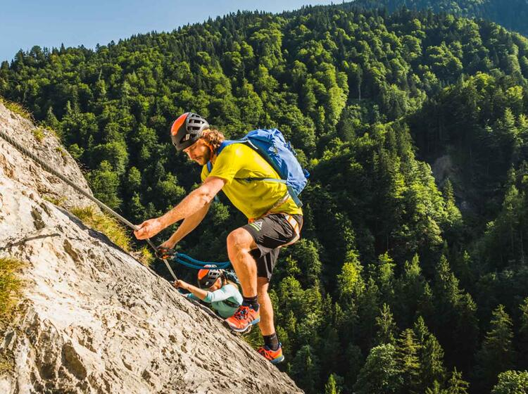 Klettersteig Gehen Lernen In Berchtesgaden