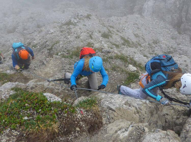 Klettersteig Im Allgaeu Am Iseler